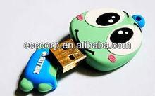 PVC material high quality full capacity animal shaped 4 tb usb flash drive