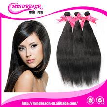 Mindreach 6A Grade best selling unprocessed virgin Brazilian hair 100% silk straight aliexpress hair weave