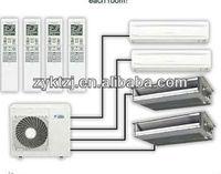 Multi split type energy saving daikin inverter 3ph air conditioning