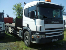 RIGID TRUCK SCANIA P114 6X2 340HP