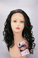 Gemma Lady Lace front Wig virgin Brazilian human hair extension black Remy hair Swiss lace cheap full lace wigs