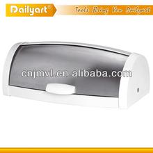 Top selling modern style stainless steel metal vacuum bread box(V021029)