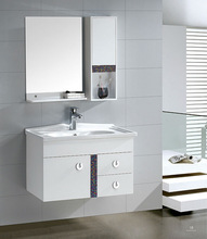 European bath cabinet, popular solid wood cabinet, Optional material