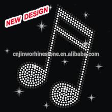 Custom music saves us words rhinestone t shirt transfers wholesale uk F1 15
