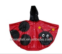 Clear Plastic Rain Coat for Kids