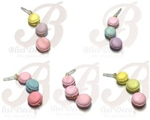 Sweet dust plug for cell phone, handmade clay, pluggy, Ear cap cell phone charms