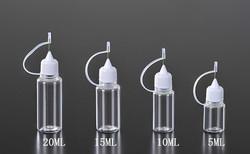 10/15/20/25/30/50ml pe e cigarette liquid plastic with Needle tube