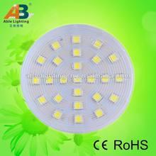 12v/42v dc led dimmable led light bulb warm white 3.5w 5050-25smd led light 360lm 80cri gx53 high power led 2700k