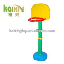 Plastic Basketball Toy Rack For Children