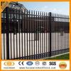 Black powder coated DIY metal ornamental steel fence