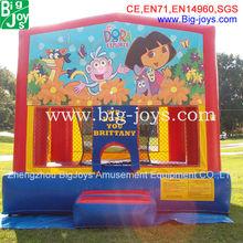 Attractive Fun Cheap Inflatable Bouncer Cartoon