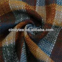 13*13 multicolor soft plaid slub 100% cotton yarn dye fabric