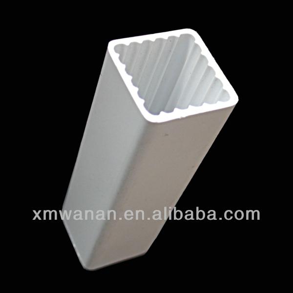 20x20 toallero de barra de pvc blanco hueco tubos - Tubos cuadrados de pvc ...
