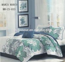 Elegant Life high quality ultrasonic luxury bed sheet set