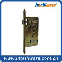 Yellow Zinc Plating Door Knob Lock Body Parts