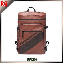 Urban elements twill PU leather men's bag travel