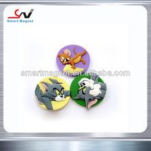 Cheap Price Any shapes Custom 3d soft pvc fridge magnets