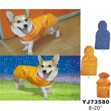 2015new fashion dog raincoat