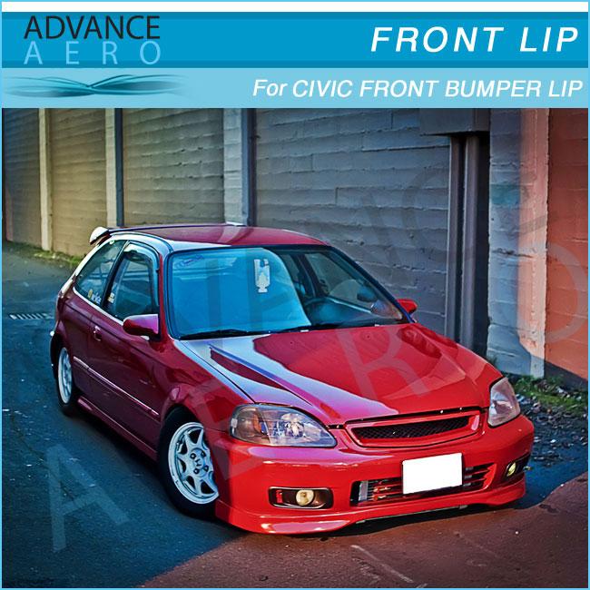 Pour 99 00 Honda Civic Ek Tr Type R Urethane Pare Choc