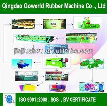 EVA sheet foaming moulding machinery / EVA foaming hydraulic press