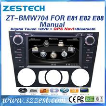 ZESTECH Special Car dvd player for BMW 1 Series E87 E88 E81 E82 build navigation gps FOR BMW 1 seris CAR DVD GPS MULTIMEDIA