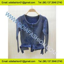onorevoli scoop collo jacquard lungo maglione cardigan manica cappotto in maglia fabbrica