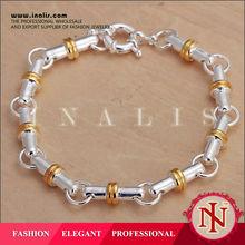 Popular buying in bulk wholesale silver bracelet H100