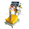 Kutusu besleyici çift sistem toz boya makinesi wx-101v-d