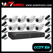 WETRANS CCTV KIT 5308B2M3 8CH Outdoor DVR kit Cheap Home Security Camera set