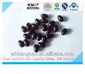 orgânica pureza natural extrato de semente de uva óleo de cápsulas moles extratodeervas chinesa fabricante fornecimento oem