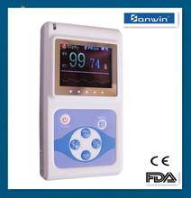 Handheld pulse oximeter CMS60D handheld finger blood oxygen meter with CE and FDA mark