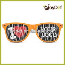 Sticker logo lens party printed wayfarer sunglasses