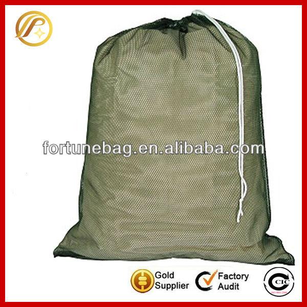 Durable generous nylon mesh laundry bag
