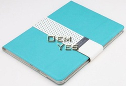 Stylish Rock Magnetic Sleeping Smart PU Leather Stand Book Case For iPad Air/5