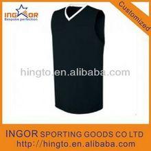 Cusotm good quality sublimation print basketball vests 2015