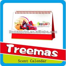 Custom shape wooden perpetual calendar J068