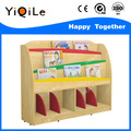 De madera de pino muebles para los niños, estantería de madera