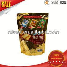 kraft paper plastic snacks packaging bags