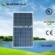 Bluesun Brand High quality poly solar pv module 100wp 110Wp