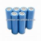 LIR18650 li-ion battery 3.7v 1800mAh 18650 rechargeable battery