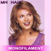top beauty wig silk top mono lace wig silk top topper wig