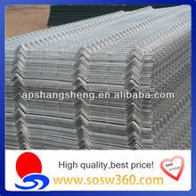 high quality V type fence/corrugated aluminum fence