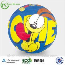 custom logo rubber basketball ball wholesale