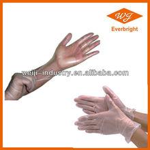 AQL1.5 Industrial grade Vinyl gloves for Hair salon / Nail art / Use with CE/ISO mark