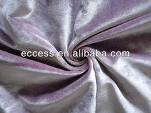 heavy cotton and rayon plain velvet fabric for sofa