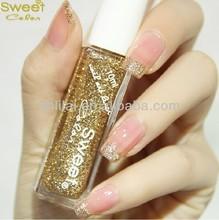 China sweet color gold nail art liner nail art products