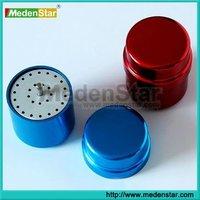 Aluminium dental burs holder/autoclave sterilization box/ dental bur box TR19