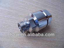 "New product female/plug din 7/16 rf coaxial connector 1-1/4"" Foam cable"