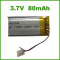 3.7v 80 mah de alta calidad mini desechables e batería del cigarrillo y cigarrillo real tamaño