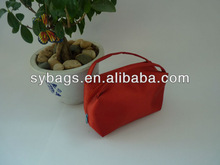 red cosmetic bag / 2014 Promotional Women Cosmetic bag case / promotional cosmetic bag